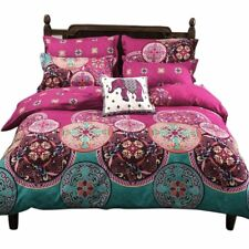 Soft Bedding Duvet Cover Set Bohemian Oriental Boho Chic Mandala King Size