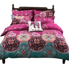 NUEVO Ropa de cama Set bohemio Oriental Boho Elegante Mandala Reina Rey tamaño