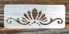Ventilador & desplazamiento festival tribal frente pintura de la cara de la plantilla 11cm X 4.5cm Reutilizable