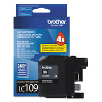 Brother LC109BK Innobella Super High-Yield Ink Black