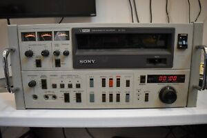 Sony VO-5850 U-Matic Videocassette Pro Recorder