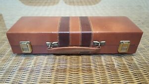 Vintage Rummy-O Tile Game in Faux Leather Carrying Case