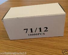 Trade case (10,000 x 20 boxes) 71/12 type Upholstery staples. 1 ( Carton )