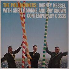 THE POLL WINNERS: Kessel, Ray Brown CONTEMPORARY C 3535 Jazz DG LP VG++