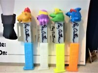 4dif Crazy Animals pez disp signed Pez Outlaw brought to USA by Pez Outlaw