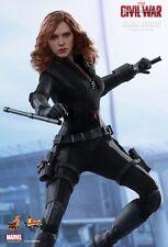 BLACK WIDOW Hot Toys 1/6 Figure (Captain America Civil War) *UK SHIP* IN STOCK