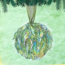 Sunrise DANCING LEAVES Beaded Sequin Christmas Ornament Kit - NEW