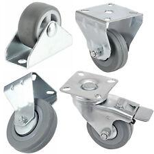 More details for castor wheels trolley wheel caster furniture bed industrial caster 32 50 100  mm
