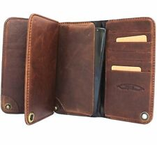 genuine leather Case For Samsung Galaxy Note 4 book wallet handmade skin id