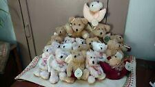 Boyds Stuffed Angel Bear Ornaments Lot