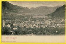 cpa Dos 1900 Weltpostverein SUISSE SCHWEIZ SVIZZERA Gruss aus BAD RAGAZ