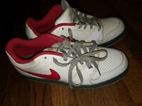 Nike Prestige IV Basketball Shoes 448428 162 Men's Size 8 Red White Preowned