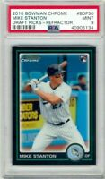 2010 Bowman Chrome REFRACTOR Giancarlo Mike Stanton Rookie RC PSA 9 Mint INVEST