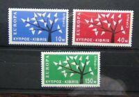 Cyprus 1963 Europa set MNH