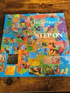 Happy Mondays - Step On - FAC272 - Vinyl is VG++