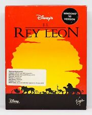 EL REY LEON - PC ESPAÑA - CAJA GRANDE DE CARTON - THE LION KING