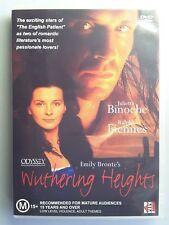 Wuthering Heights (DVD, 2003) Juliette Binoche RARE OOP - Ralph Fiennes