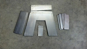 "6"" Universal Step Notch Kit 2.25"" wide airride slammed c-notch c notch"