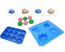 Set x 2, Christmas Design Wax Melt Tart Tray & 4 Shape Tray Candle Mould S7720