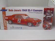 1 18 Bob Jane Chev Zl-1 Camaro 1969 #7 Classic Carlectables 18076