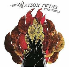 """THE WATSON TWINS, CD """"FIRE SONGS"""" NEW SEALED"""