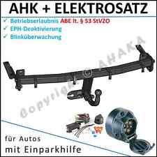 AHK & ES7 VW Caddy III Kasten Kombi ab 2004- EPH-Abschaltung Einparkhilfe E-satz