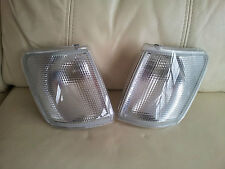 FORD FIESTA MK3 RS TURBO RS 1800 FRONT CLEAR INDICATORS GENUINE FORD