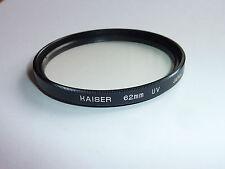 UV  Filter  vergütet 62mm KAISER