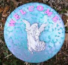 NEW plaster,concrete abs plastic angel garden mold