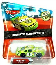 Disney Pixar Cars KMart Shiny Wax No. 82 Die-Cast Vehicle Synthetic Rubber Tires