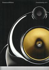 BOWERS & WILKENS Produktkatalog 2014 audio Katalog Heft  B1214