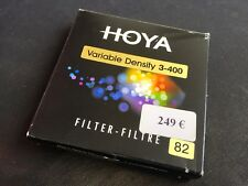 Hoya 82mm 82 mm Variable Density NDx3-400 ND3-ND400 Neutral Camera Lens Filter