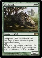 WITCHSTALKER M14 Magic 2014 MTG Green Creature—Wolf RARE