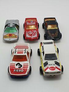 Majorette Vintage Pontiac, Audi & Bmw 1980s Made In France