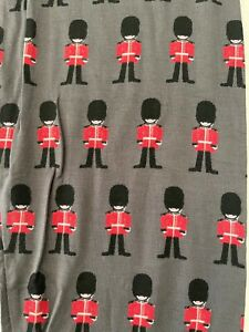 NEW Kickee Pants Pajama Pants in Queen's Guard Print, Size 14