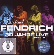 """RAINHARD FENDRICH """"30 JAHRE LIVE BEST OF"""" CD+DVD NEU"""