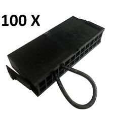 Lot x 100  JUMP 24-Pin ATX/EPS PSU STARTER BRIDGE, RUN YOUR POWER SUPPLY