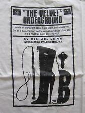 DS vintage The Velvet Underground t-shirt Lou Reed Nico Warhol 90's L/XL NWOT