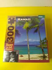Buffalo Games Puzzle Hawaii Landscape Beach 300 Large Pieces Complete - NIB