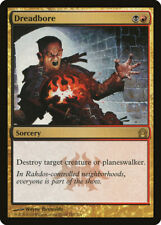 1X Dreadbore - Return to Ravnica - Italian, NM/EX MTG CARD