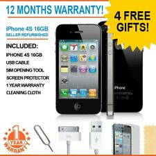 Apple iPhone 4s - 16GB - Black (Unlocked) A1387 (CDMA + GSM) 12 Months Warranty