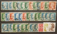 France - lot de timbres pour étude - (O) - TB - 2684
