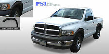 BLACK PAINTABLE Rugged Fender Flares 02-08 RAM 1500; 03-09 Dodge RAM 2500 / 3500