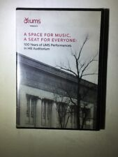 PBS UMS Documentary A space for music, a seat for everyone DVD