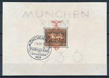 Ungeprüfte Briefmarken aus dem deutschen Reich (1933-1945) mit Sonderstempel