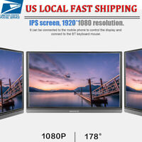 """15.6""""  IPS Touch Screen Use Portable Monitor Laptop 1920*1080 4:3 LCD Screen"""