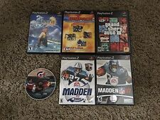 Game Bundle. 6 games for Play Station 2. all are in very good shape.