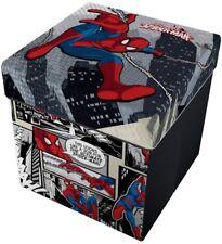 Marvel Spiderman Pouf Contenitore Con Cuscino PS 08864