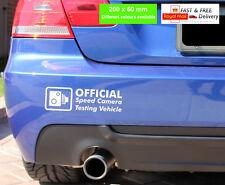 OFFICIAL SPEED CAMERA Funny Car/Window JDM VW VAG EURO Vinyl Decal Sticker