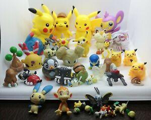 Bundle Of 45x Pokémon Figures Nintendo bandai Tomy Pikachu
